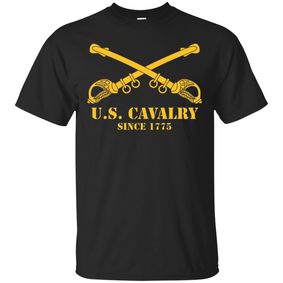 U.S. Army Cavalry, Since 1775 | U.S. Military Pride T-shirt