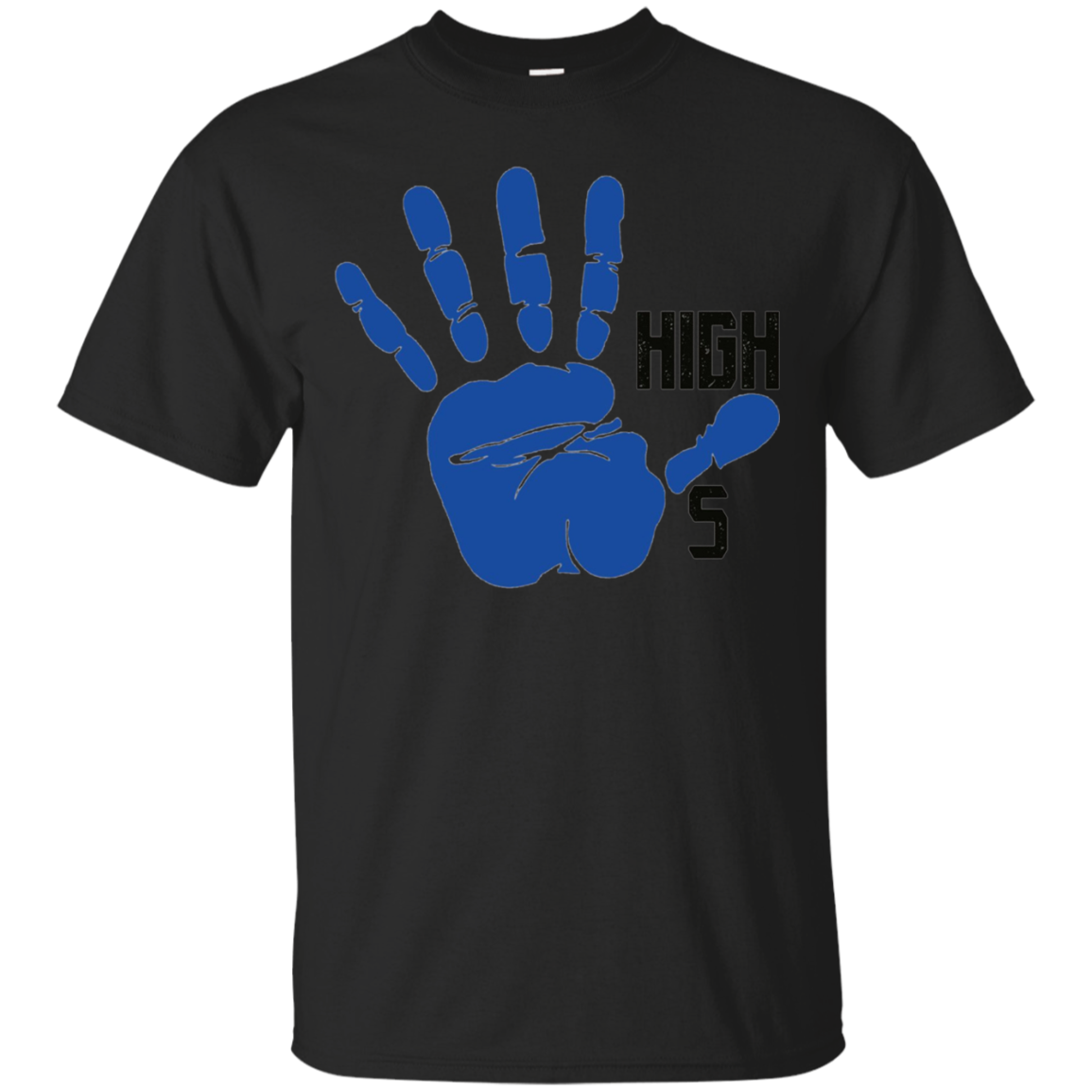 Kids High 5 Hi Five Hand Palm T-shirt Boys Girls Youth Child