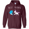 Image of Awesome Unicorn and Narwhal Shirt - Best Friends Tee
