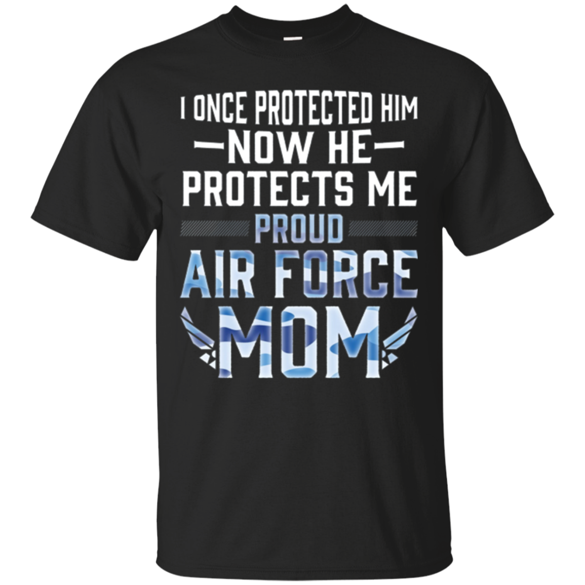 Proud Air Force Mom Son Military Army Navy T Shirt