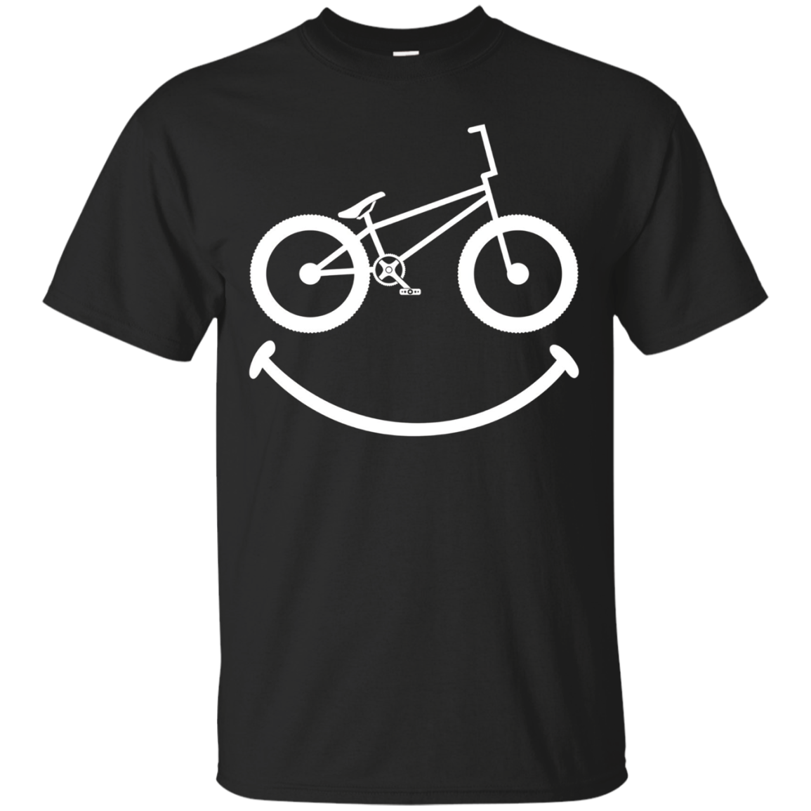 BMX Shirt: Smile Funny Love Bike Rider Gift T-Shirt