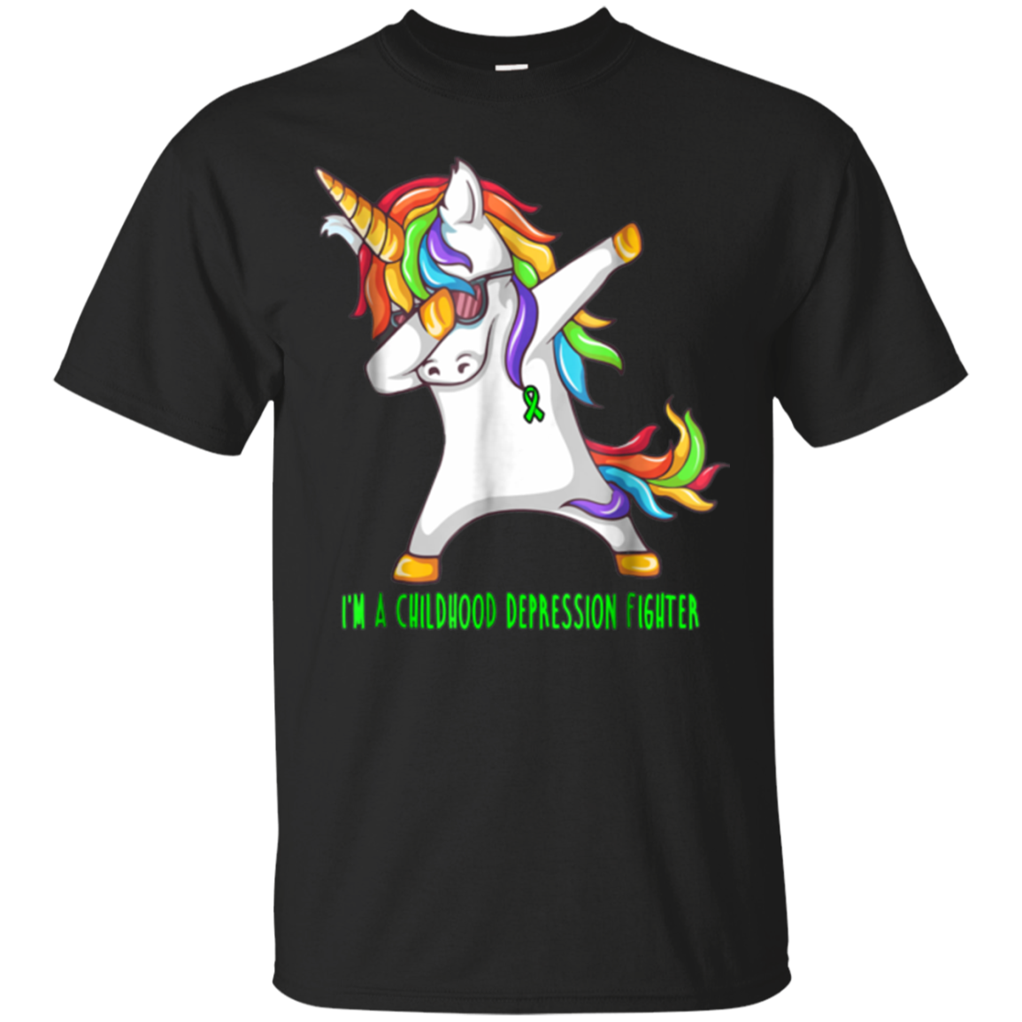 Unicorn Childhood Depression Awareness Shirt