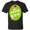 Image of Olive You Pun Lovers Long Sleeve Shirt