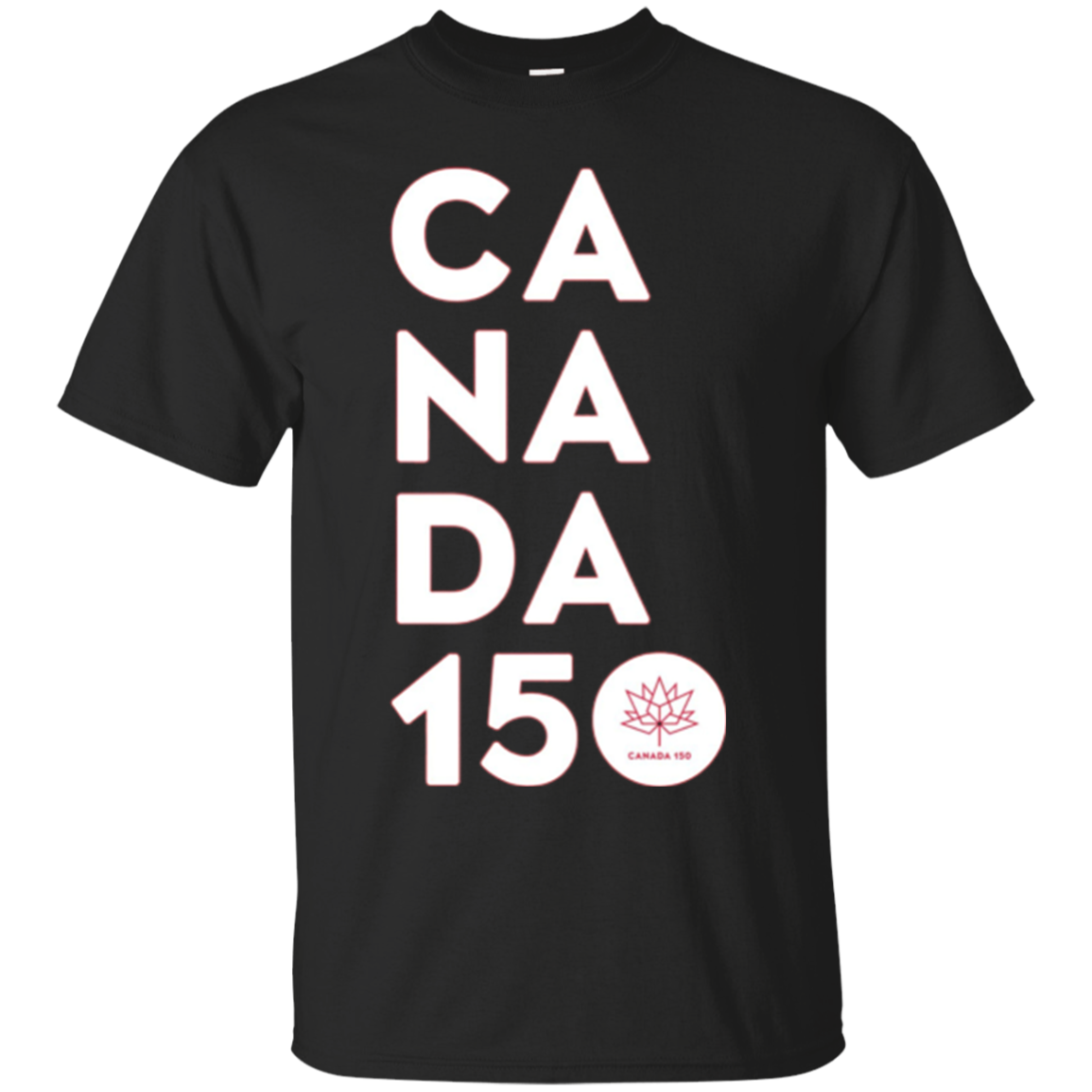 Canada 150 Officially Licensed Shirt - Vertical Logo