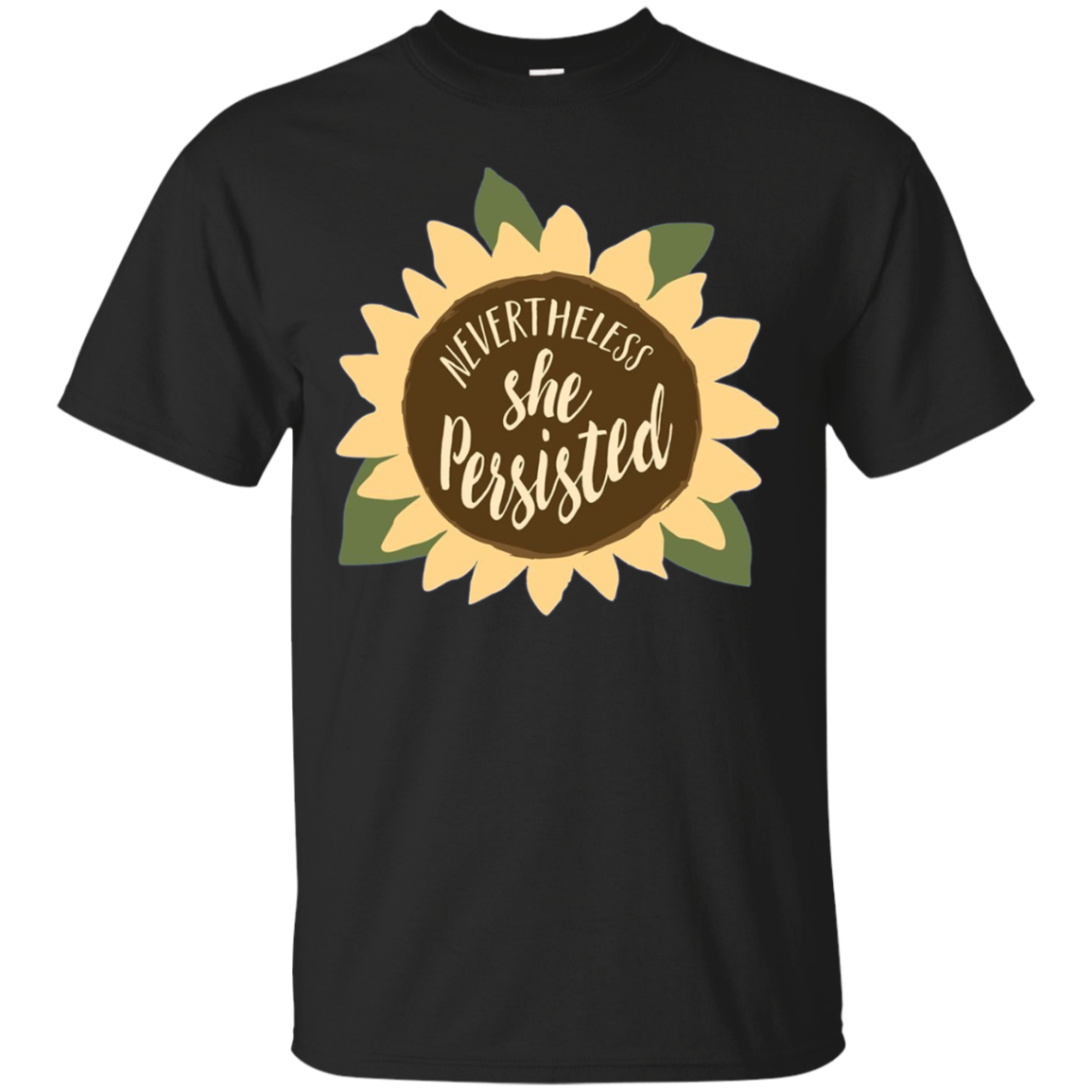 Nevertheless She Persisted Sunflower Gardening Shirt