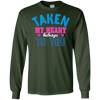 Image of Valentines Day Long Sleeve Tee Taken My Heart Belongs to You