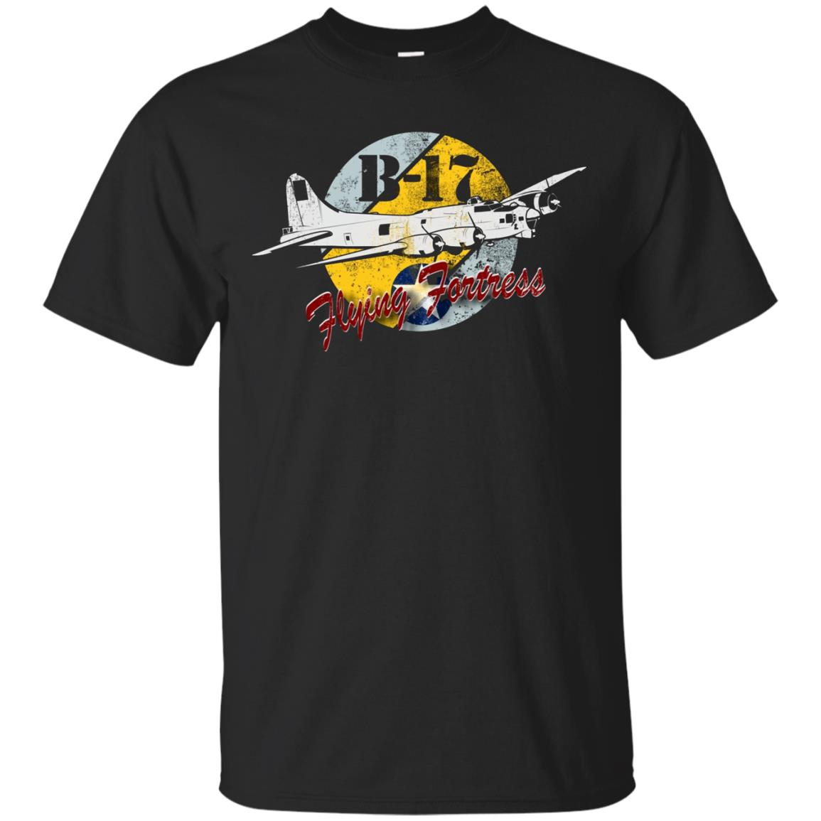 B-17 Flying Fortress Bomber WW2 Airplane T shirt