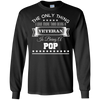 Image of I Love More Than Being A Veteran Is Being A Pop T-Shirt