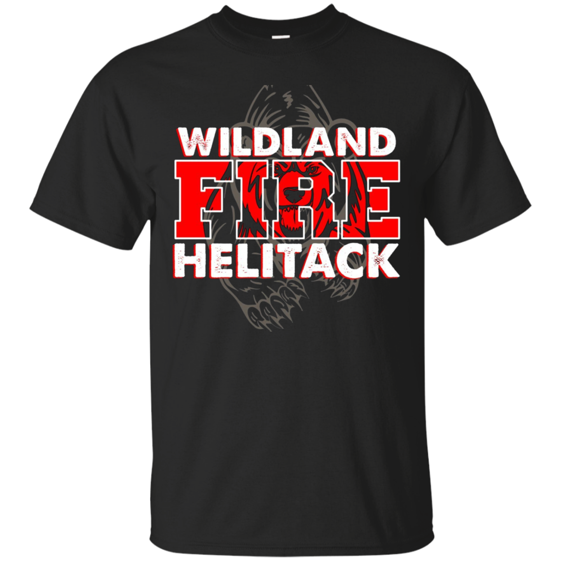 Wildland Helitack Crew Fire Rescue Firefighter Shirt