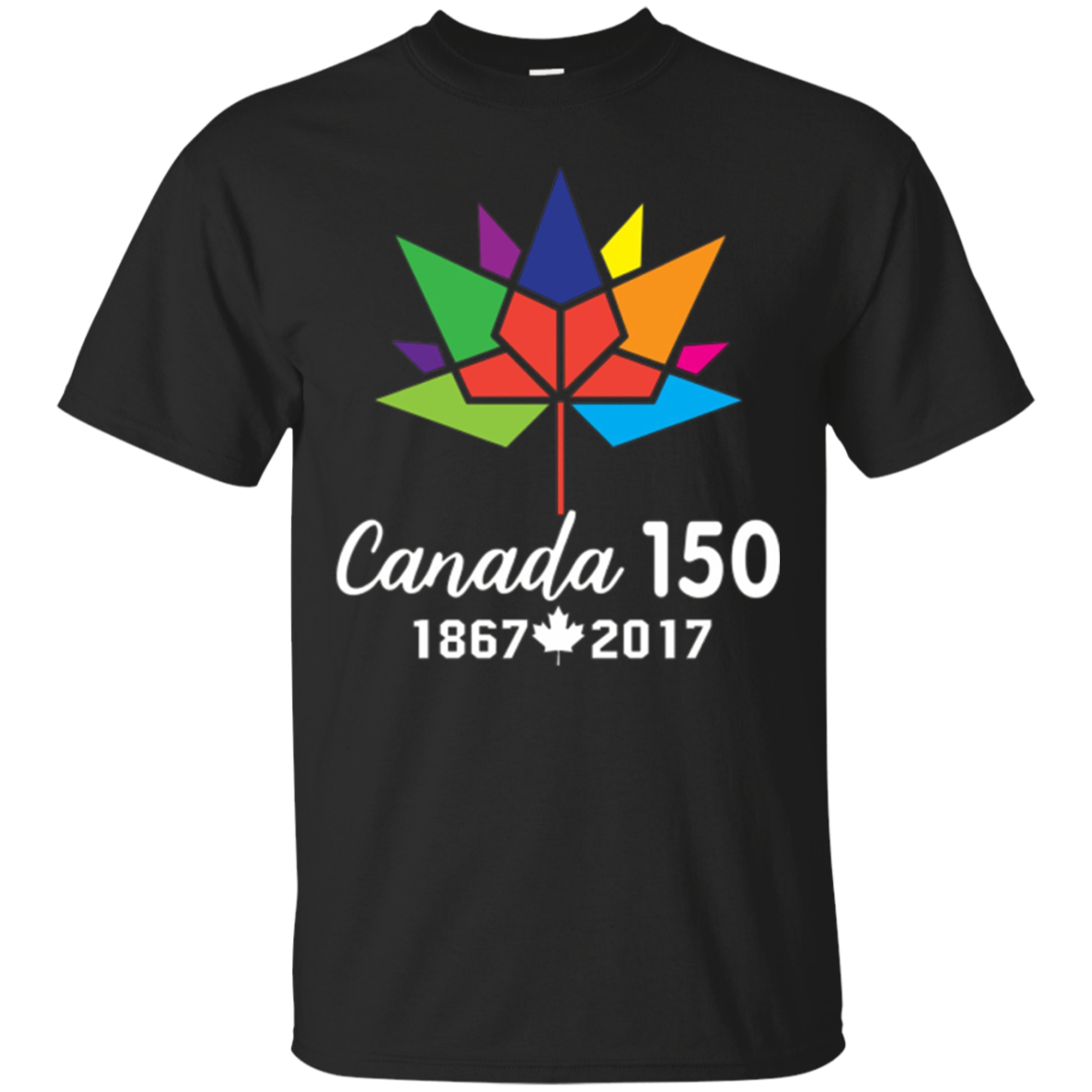 Canada 150 Years Shirt Canadian Flag T-Shirt
