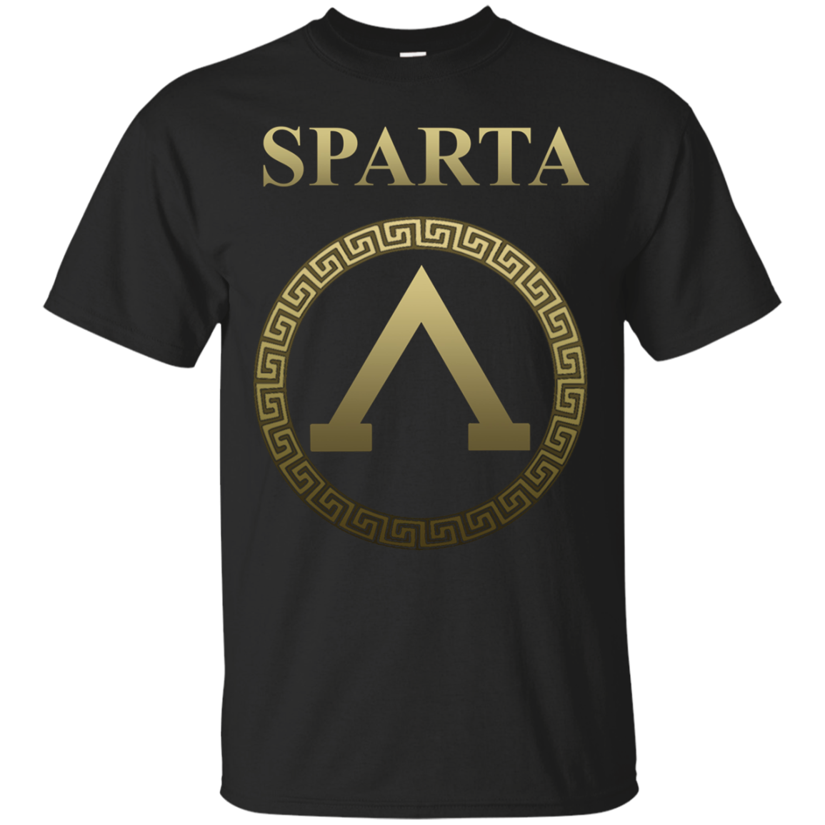 Sparta Elite Warrior Shield T-shirt