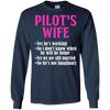 Image of Pilot's Wife Funny Answers To Questions T-Shirt