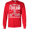 Image of Motorcycle Shirt I Don't Snore I Dream I'm A Motorcycle Tees