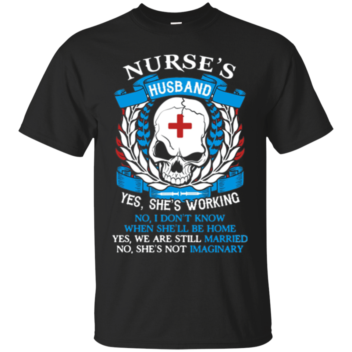 Proud Nurse Husband T-Shirt