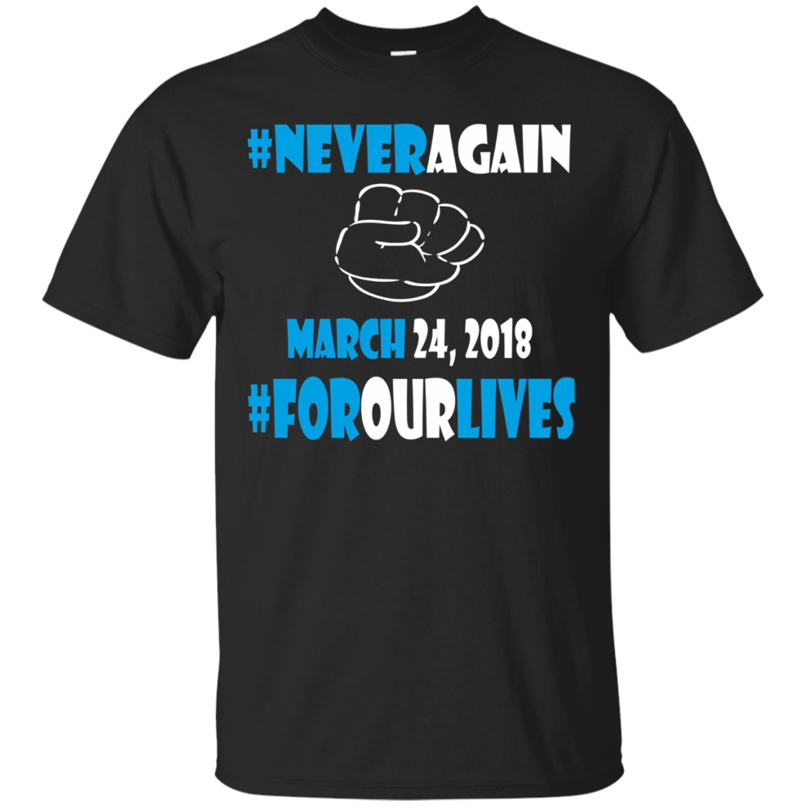 Never Again Sweatshirt for Gun Control