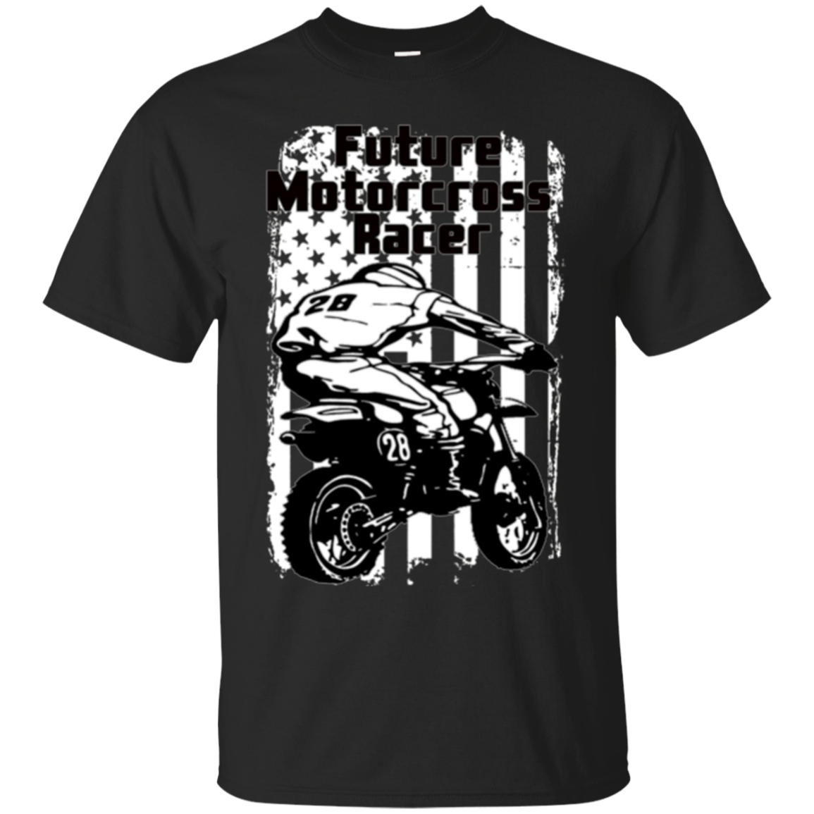 Future Motorcross Racer kids Dirtbike tshirt Motorcycle tee
