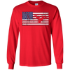 Image of American Flag Motocross Motorcycle Patriotic T-Shirt Fun