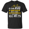 Image of Bicycle Tshirt - Ride 100 Miles