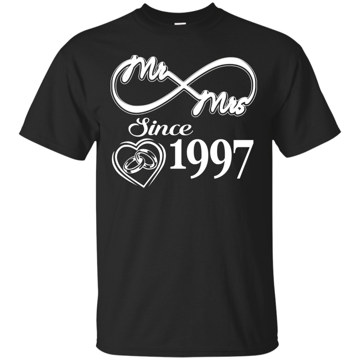20 Years Anniversary Gift - Mr Mrs Since 1997 Shirt