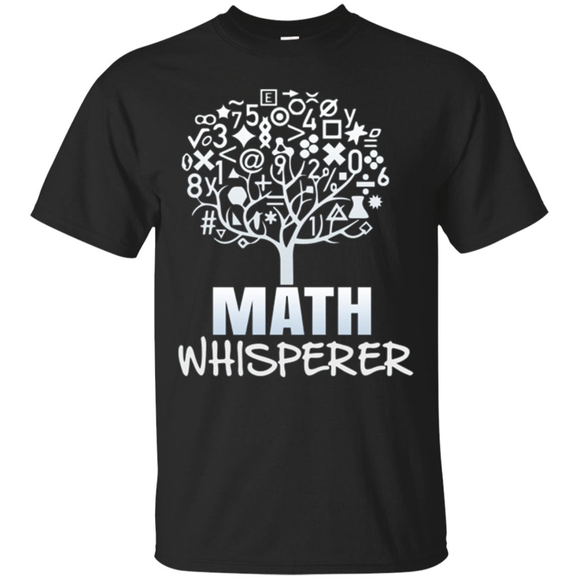 Math Whisperer T-Shirt Maths Teacher Gift