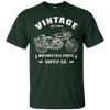 Image of Classic Biker Motorcycle Rider Cafe Racer Mechanic T-shirt