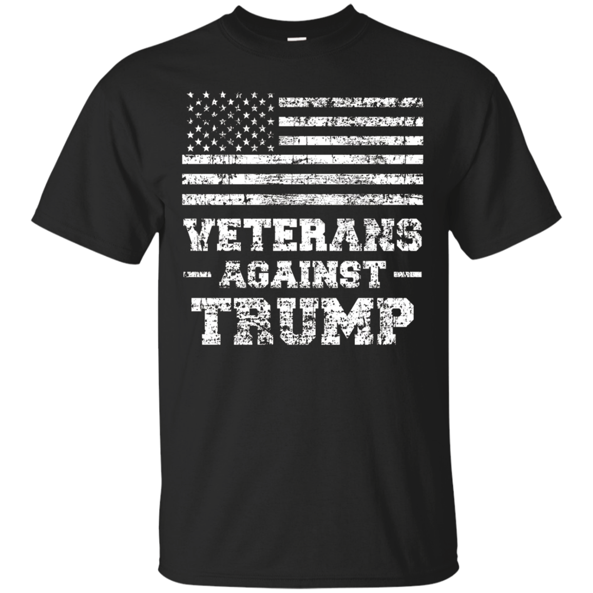 Mens Veterans Against Trump Military Vet Anti Trump Shirt