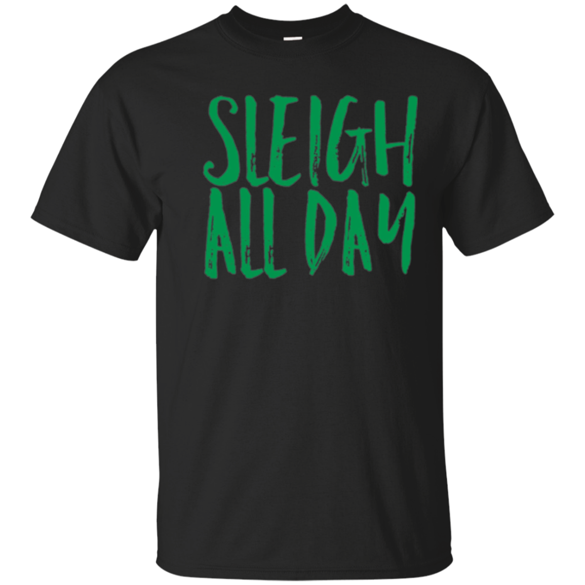 Sleigh All Day Funny Christmas Mom Holiday Party Shirt