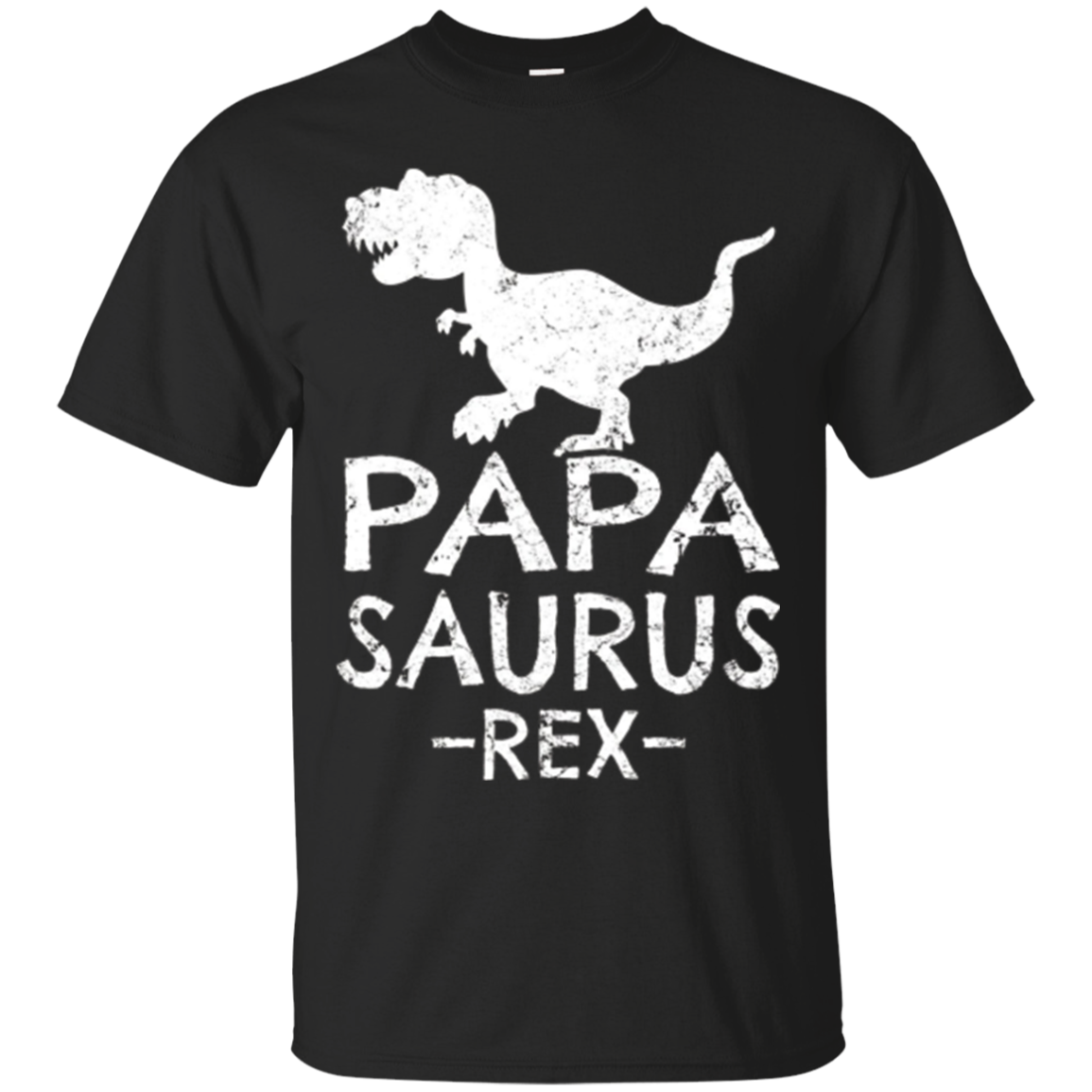 Papa Saurus Rex T-Shirt Gifts for Dad