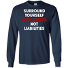 Image of Surround Yourself With Assets T-Shirt | Finance Gift Tee