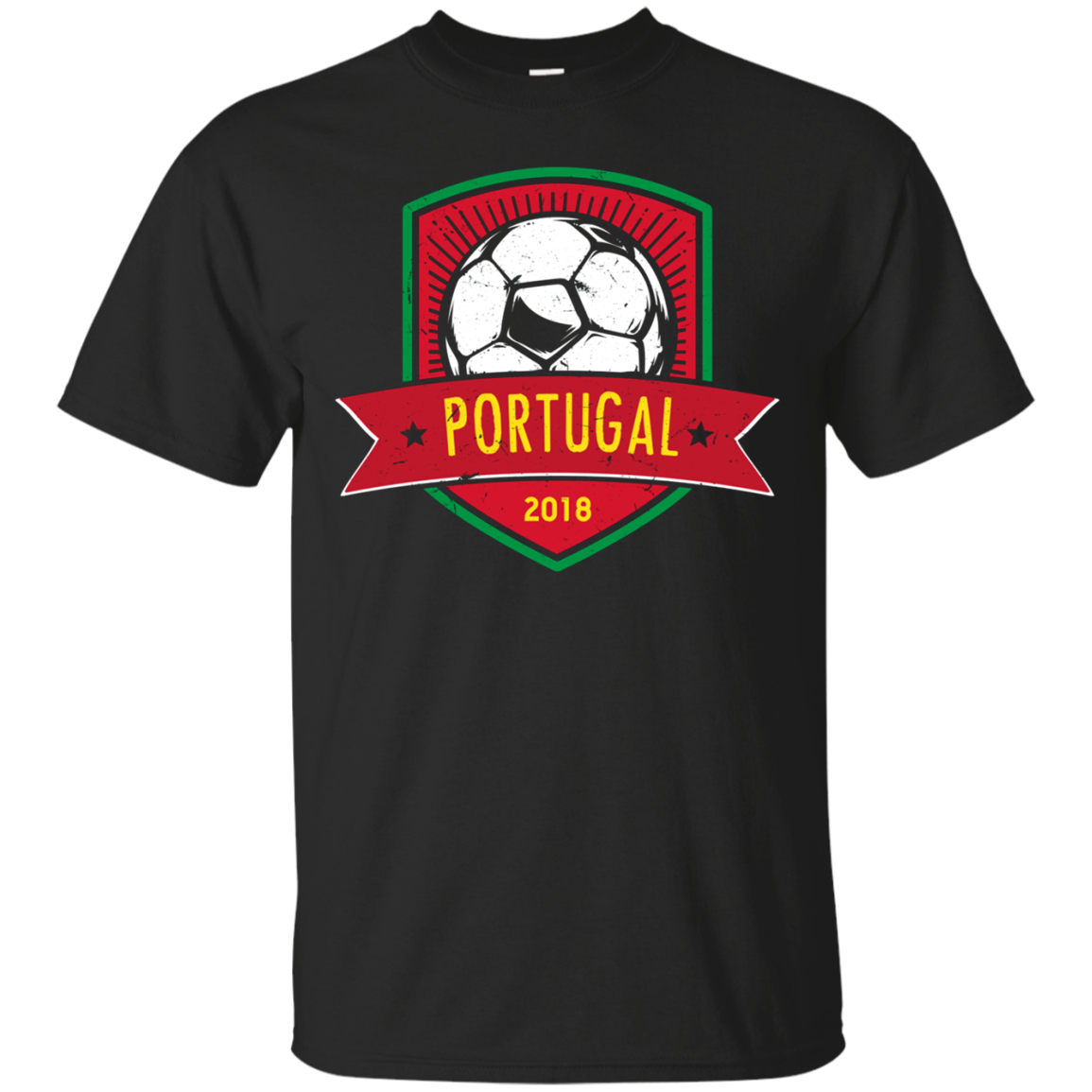 Vintage Portugal Team Shirt 2018