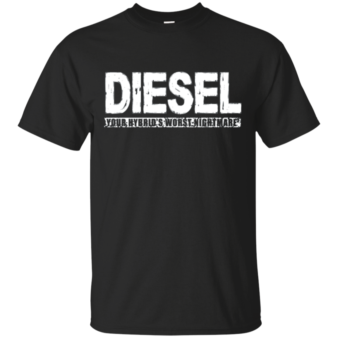Diesel Your Hybrid's Worst Enemy - Funny Truck T-Shirt