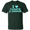 Image of I Love Charts and Graphs Funny T-Shirt