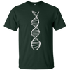 Image of Motorcycle Chain DNA T-Shirt For Motorcycle And MTB Riders