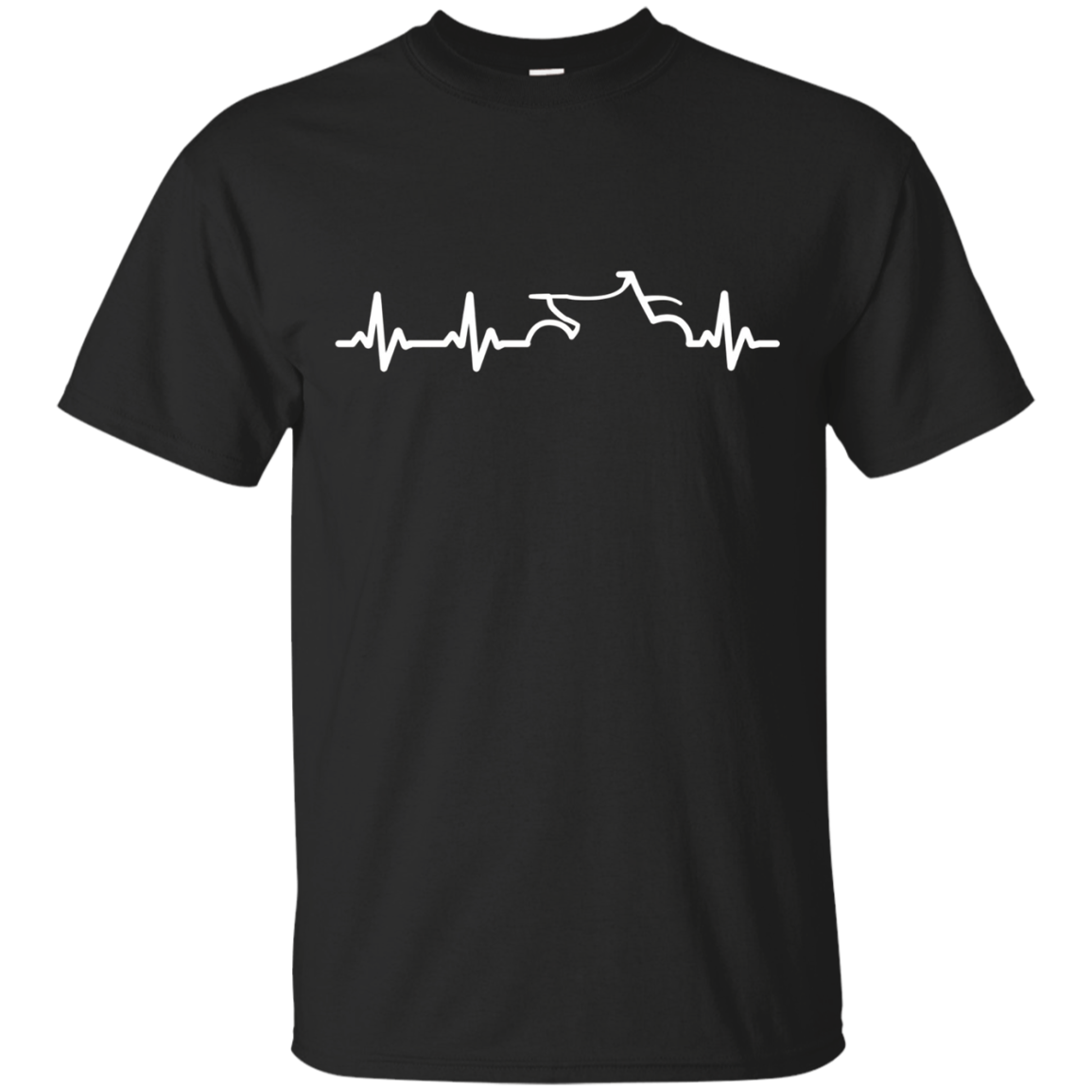 Cool Motocross T-shirts: Motocross Dirt Bike Pulse T-shirt