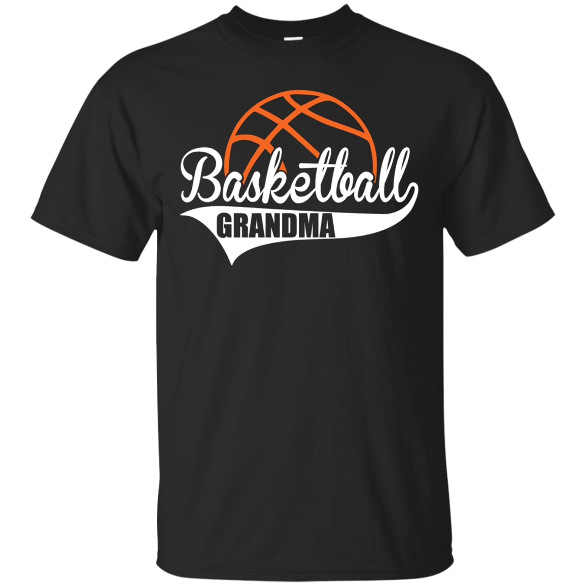 Basketball GRANDMA T-Shirt Matching Family Basketball