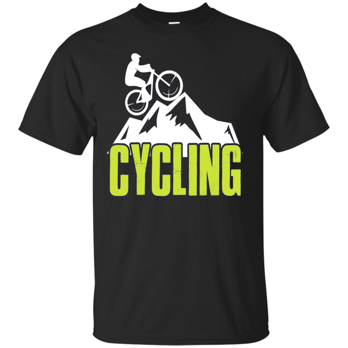 Cycling Long Sleeve Tshirt Mountain Bike Lover Tee Shirt