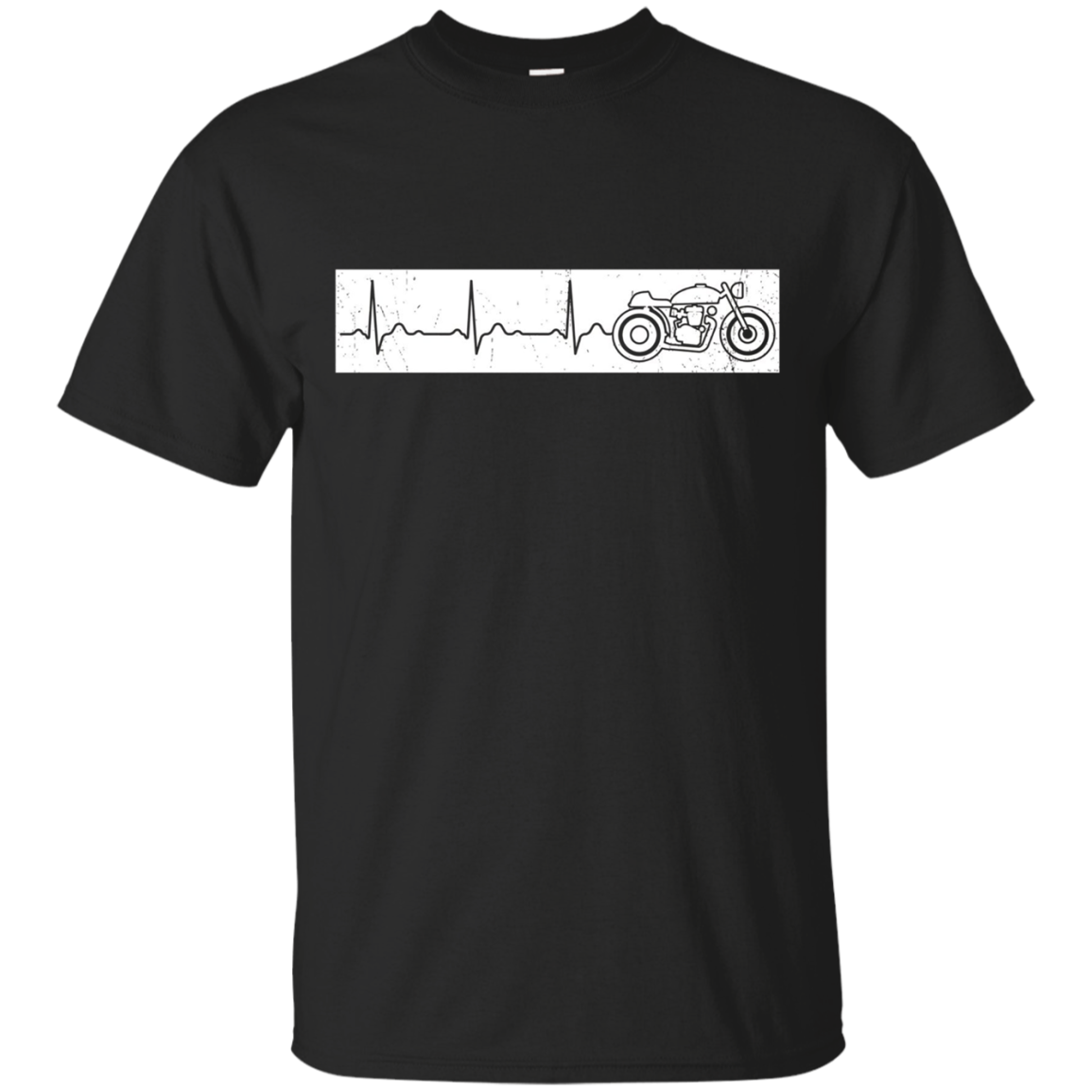 Motorcycle Heartbeat Motorcycle T-Shirt