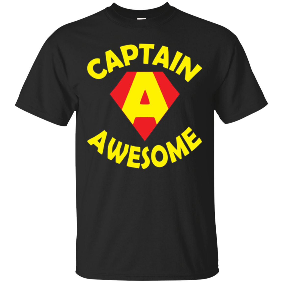 Fun Captain Awesome Custom T Shirt