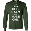 Image of Keep Calm And Make Chili Funny T-Shirt Cook Off Tee