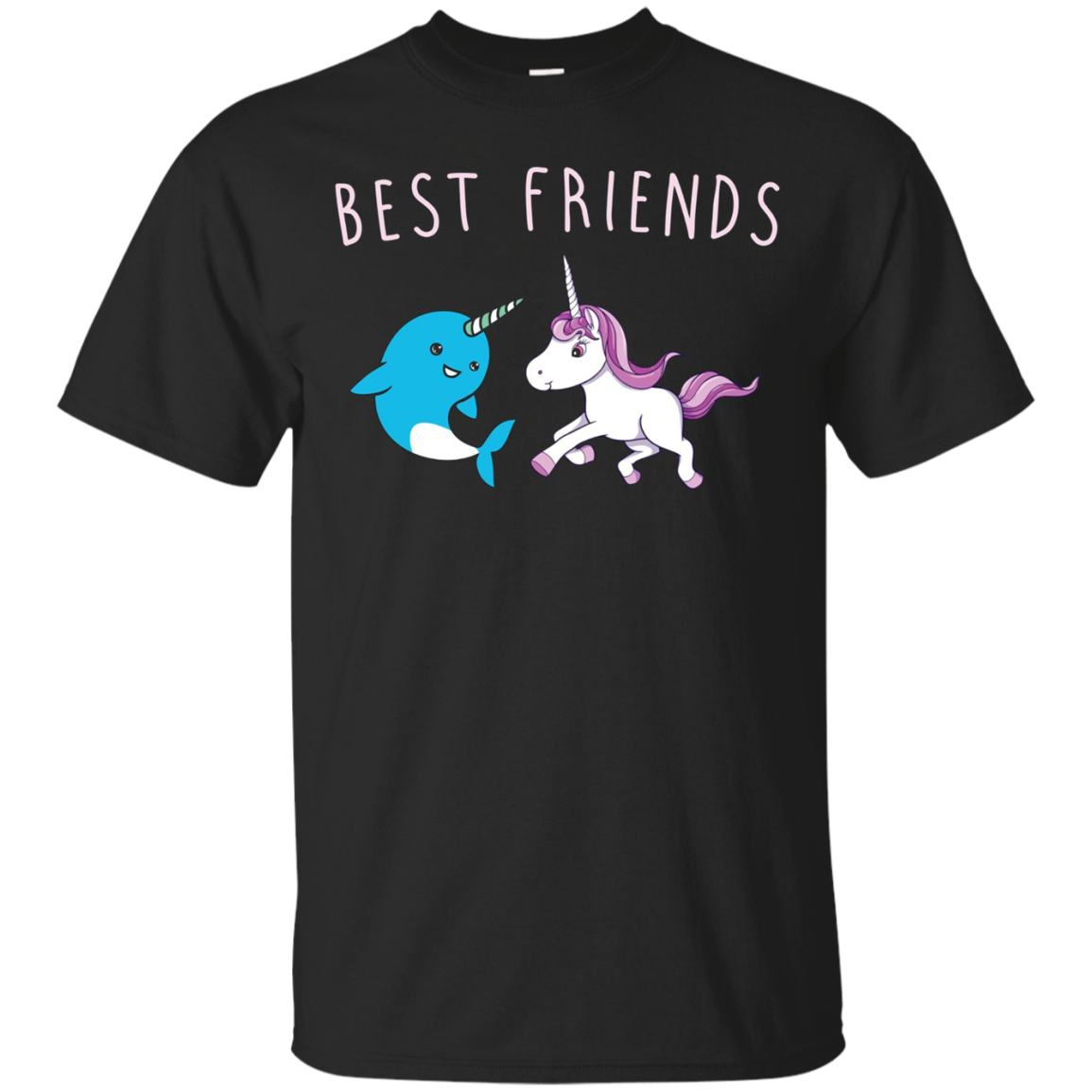 Awesome Unicorn and Narwhal Shirt - Best Friends Tee