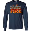 "Image of The Official ""WELDING: IT'S LIKE SEWING WITH FIRE"" T-shirt"
