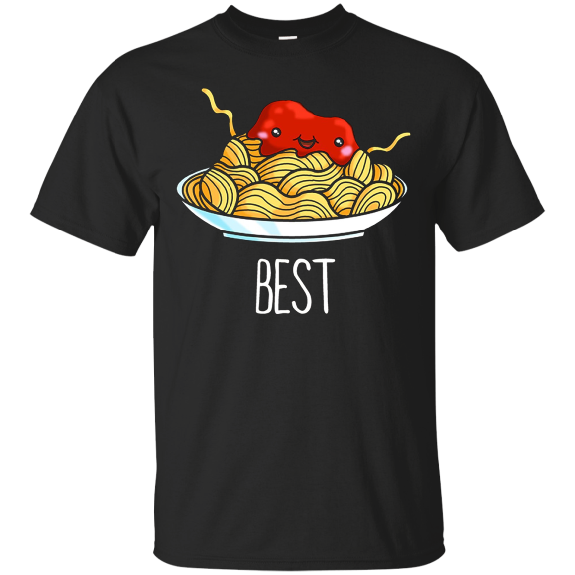 Spaghetti And Meatballs Cute Best Friend Shirts For Women