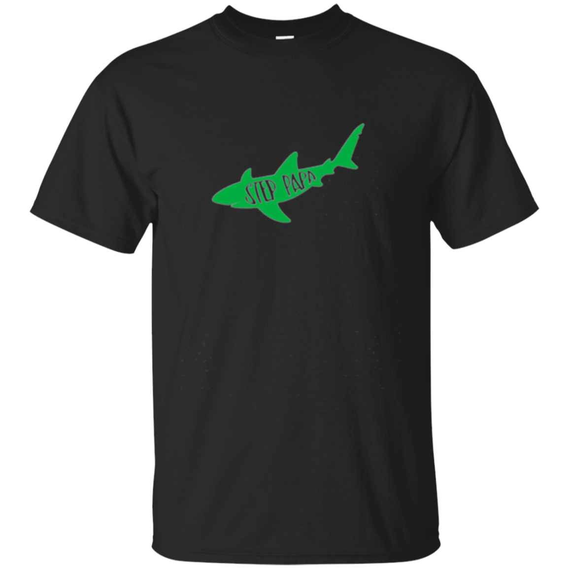 "Family T-Shirt ""Step-Papa"" Shark Matching"