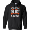 Image of Mens The best man who was born in August T-shirt