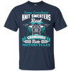 Image of Some Grandmas Knit Sweaters Real Ride Motorcycles Shirt Bike