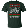Image of Motorcycle Merry Christmas Ugly Sweater Brap Brap Brap Shirt