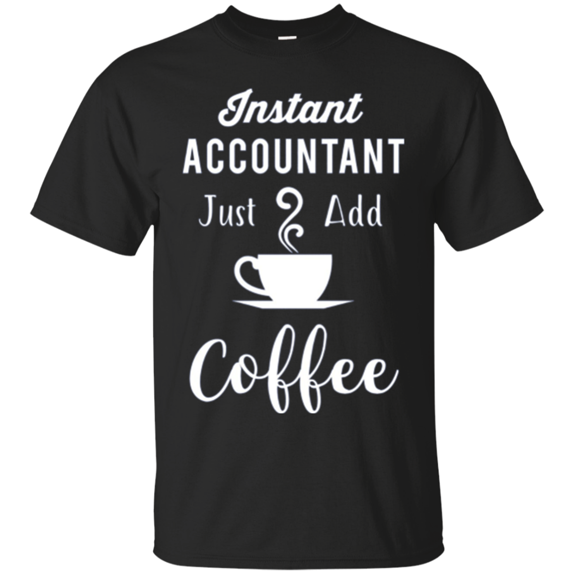 Funny Accounting CPA Long Sleeve Shirt - Instant Accountant