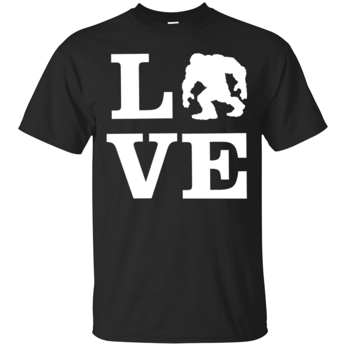 I love Bigfoot T Shirt I Believe in Bigfoot Gifts Tees
