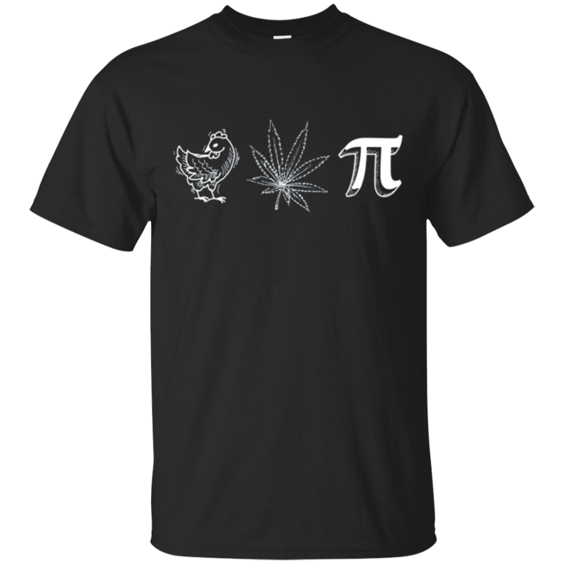 Chicken Pot Pie / Pi Funny Shirt for Geeks and Stoners