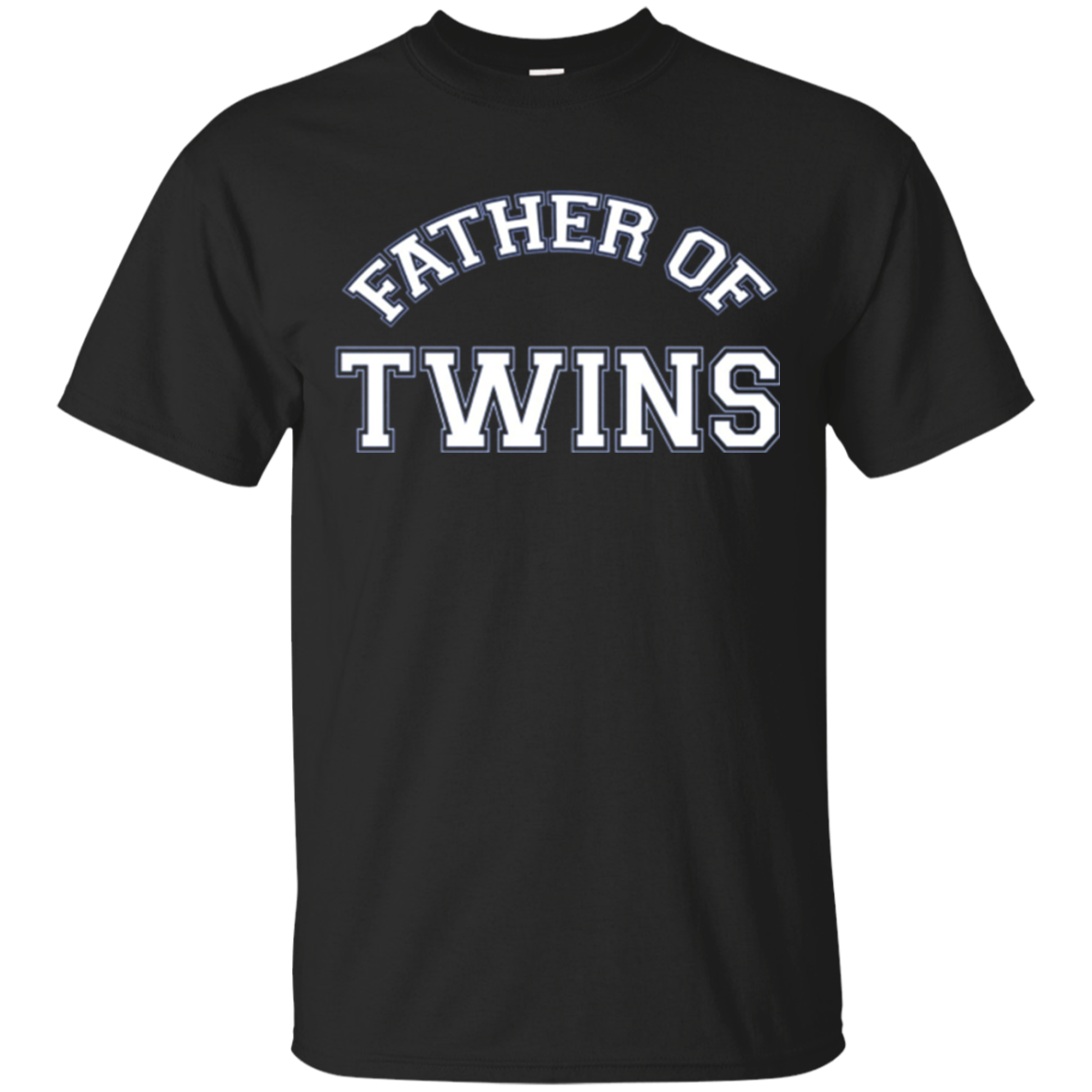 Mens Dad Of Twins T-Shirt Dad of Twins Tee